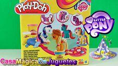 Mi Pequeño Poni y Play-Doh Combinados Significa Diversion Total