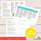 EYLF - Early Years Learning Framework Templates (Word Document)