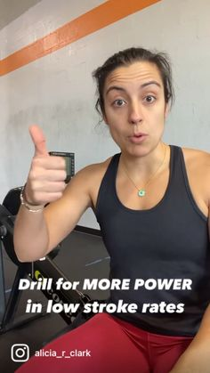 To help you get more power at low stroke rates, give the reverse pick drill a try! This drill helps you focus on the power your legs provide. Take your time coming back on the slide on the recovery! #rowing #indoorrowing #rowingpower #rowingforwomen #concept2 Rowing Technique, Indoor Rowing, Row Row Row, Steady State, Drive Time, Learning To Drive, Best Positions, Personal Trainer, Cardio