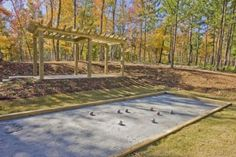 Arrange a game of bocce ball at the court with your friends and neighbors.