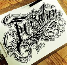 Sketch letter chicano font style  #Lettering #Design #Chicano #Chicano…
