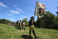 There was a Revolutionary War reenactment with the Virginia 7th and the British at Gunston Hall Plantation, Sunday, May 5, 2013.
