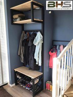 Brommer hout- & staalbouw webshop – www.brommerhouten… - Pinsandpins Tutorial and Ideas Decor, Furniture, Home, Welded Furniture, Loft Furniture, Diy Furniture, Metal Furniture, Home Decor, Steel Furniture
