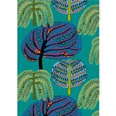 Sadonkorjuu fabric, Manufacturer: Marimekko