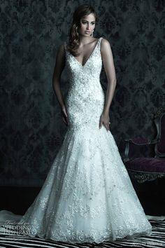 allure bridal gown #wedding