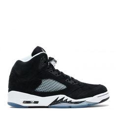 ea738460013676 Air Jordan 5 Retro Oreo Black Cool Grey White 136027 035