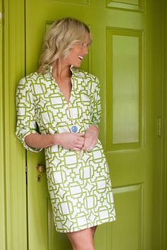 Like the collar - Tunic Dress