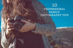 Are your family photos always blurry, too dark or have at least one persona blinking in them? Get professional tips and learn how to take better pictures.