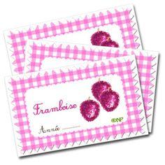 Étiquettes pour confiture de framboises Quilt Labels, Free Printables, Coin Purse, Scrapbook, Blog, Conservation, Mousse, Caramel, Images