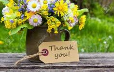 Image result for flowers thank you