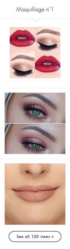 """Maquillage n°1"" by styles-of-outfits ❤ liked on Polyvore featuring home, home decor, beauty products, makeup, eye makeup, false eyelashes, eyes, beauty, make and black"