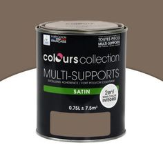 Peinture multi-supports COLOURS Collection chataigne satin 2,5 L | Castorama