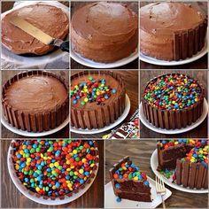 Noah's birthday cake #candyking