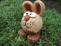 ~ Osterhase ~ keramik Unikat von Limace-Chambre auf DaWanda.com