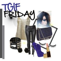 """TGIF FRIDAY"" by soo-kimberley-noh on Polyvore"
