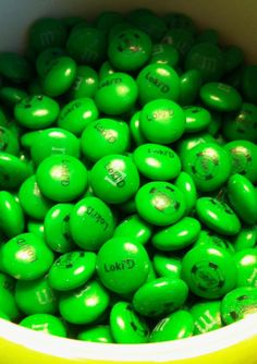 Loki'd M&Ms? Why yes,  I will.