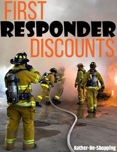 First Responder Discounts: All 22 Popular Stores That Offer Them - Finance tips, saving money, budgeting planner Best Money Saving Tips, Ways To Save Money, Money Tips, Saving Money, Savings Planner, Budget Planner, First Responder Discounts, Preparing For Retirement, Saddleback Leather