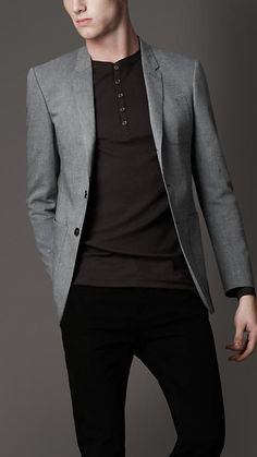 Black elbow patches too. Elbow Patch Jacket, Elbow Patches, Blazer Outfits Men, Men's Fashion, Fashion Outfits, Field Jacket, Sharp Dressed Man, Korean Men, Trench Coats