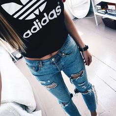 - Style (@style) #casual #outfits #adidas | pinterest/suviiit