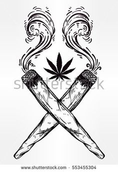 Image result for weed tattoos