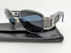 496769bffa25 Genuine Vintage Gianni Versace Medusa Sunglasses Mod X27 M Col 029 Very Rare !