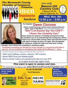 COME JOIN US for an informative and interactive discussion and great networking over lunch!  http://www.monmouthcountychamber.com/events/details/women-in-business-luncheon-november-9-2016-3100