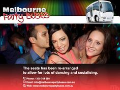 Book Nightclub bus tours Melbourne for on the move group entertainment