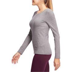 GROUPE 1 Femme - T-shirt 100 ML Gym gris chiné DOMYOS - Vêtements 14c159c9327