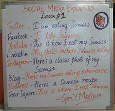 Samosa can explain everything !