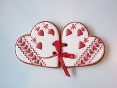 Пряники-валентинки
