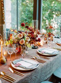La Tavola Fine Linen Rental: Velvet Charcoal with Nevada Charcoal Napkins Wedding Reception Design, Reception Table, Wedding Ideas, Wedding Decor, Wedding Venues, Chocolate Cosmos, Tent Design, Rooftop Wedding, Linen Rentals