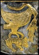 GetaiGold Armor - Romanian History and Culture Thracian helmet,detail