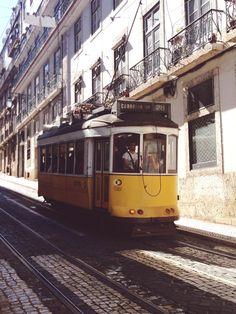 Tram 28, Lisbon | misterbarton | VSCO Grid Lisbon Tram, Portugal, Trendy Bar, Vsco Grid, Beautiful Architecture, Simple Pleasures, Travel Europe, Most Favorite, Travel Around The World