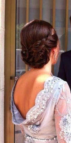 estilismo con romy: recogidos de novia