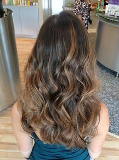 Image result for balayage highlights on brunette hair
