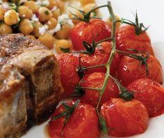 tomates rôties épicées