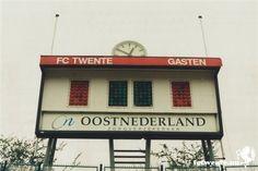 Scorebord van het Diekman stadion.