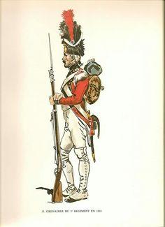 Granatiere del 3 rgt. fanteria di linea della confederazione elvetica