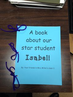 FREEBIE! Star Student of the Week. There are activities for each day of the week and it is all laid out in detail on what to do each day! FREEBIE- Each student writes letter to star student to make a book for them as a keepsake!