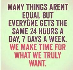 Make every minute count. Spend your time with the people that matter, doing the things you love.