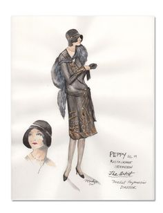 Easily one of my favourite dresses seen on Peppy in The Artist. Designed by Mark Bridges  Source: Vanity Fair