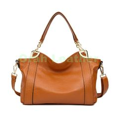 Leather Tote/ Shopping Bag/  Shoulder Bag/ Women by OrahLeather, $68.99
