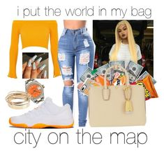 """""""no time to kick back🦊🤤"""" by makaelahangelah on Polyvore featuring River Island, Rolex, Casetify, MCM and Valentino"""