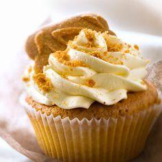 Découvrez la recette Cupcake aux spéculoos sur cuisineactuelle.fr.