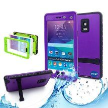 Samsung galaxy Note 4 IP-68 Untra Kick-stand Waterproof Case Cover ,Nika shop Swimming Diving New Full Body Crystal 6.6 Ft Underwater Attached Screen Protector Waterproof Water Resistant Heavy Duty Slim Case Cover for Samsung galaxy Note 4 Phone, Rugged Hard Armor Underwater Durable Full Body Sealed Protection Skin Pouch dirtproof dustproof Snowproof Sweatproof Shockproof Hard Armor Protective Heavy Duty Defender Built-in Screen Protector Rugged Cover Case for Samsung galaxy Note 4 +Free…