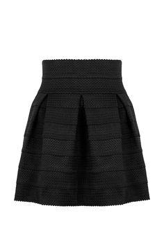 Scuba Skirt Black Skater Skirt, Summer Outfits, Spring Summer, Skirts, Model, Black, Fashion, Moda, Skirt