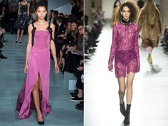 what colors to wear in fall winter 2016-2017: purple