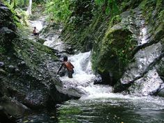 this was so much fun!  Waitavala Natural Waterslide. Taveuni, Fiji