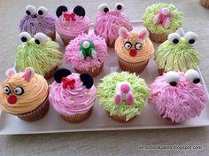 Butik Pasta Kurabiye Makaron: Cupcake Potpuri
