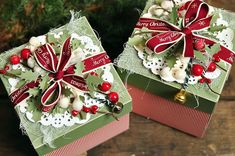cynkowe poletko: świąteczne exploding boxy